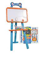 Детская доска для рисования с мольбертом Доска Знаний Play Smart   Детский набор для творчества