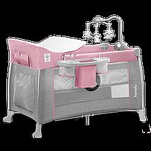 Ліжечко-манеж Lionelo THOMI PINK BABY