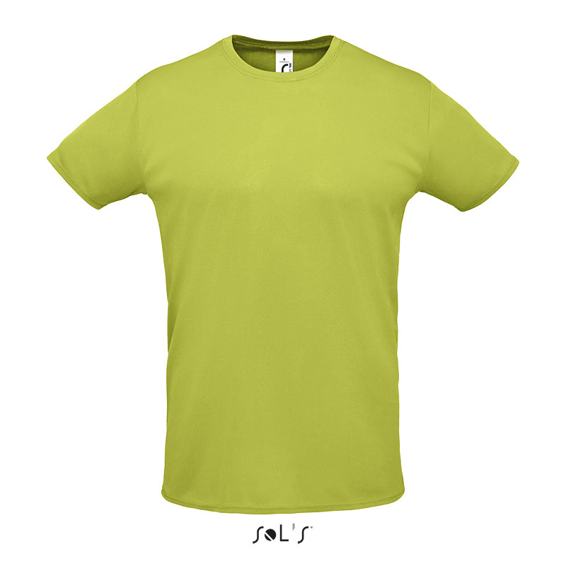 Спортивна футболка унісекс SOL'S SPRINT (зелене яблуко, XXL)
