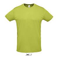 Спортивна футболка унісекс SOL'S SPRINT (зелене яблуко, XXL), фото 1