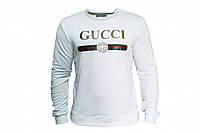 Белый мужской свитшот Gucci