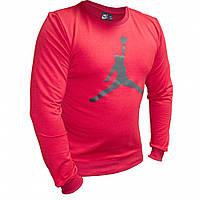 Мужской свитшот Jordan красный