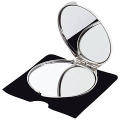 Двойное зеркало (серый, o 6,2 x 0,7 см)