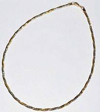 Колье, желтый-белый металл 34_1_96