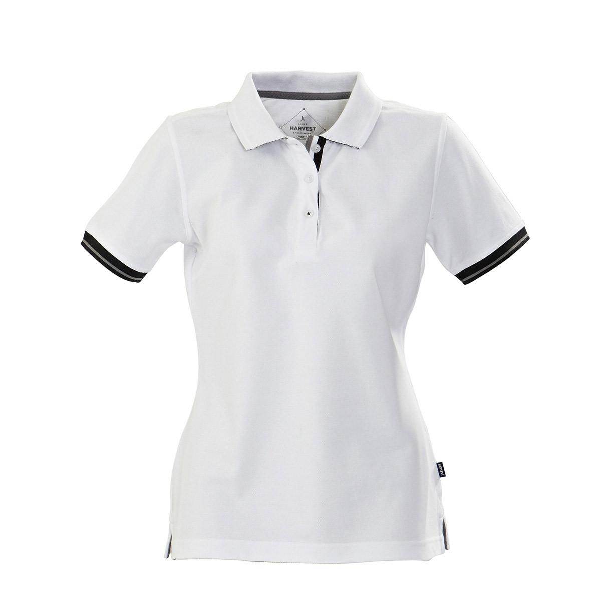 Жіноча теніска Antreville від ТМ James Harvest (білий, XL)