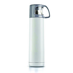 Термос Bergamo Modo, вакуумний, сталевий, 700 мл (білий, 100 х 85 х 295 мм)