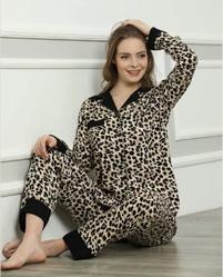 Сатиновая пижама Arzu glam black L