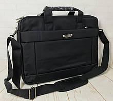 Мужская сумка- портфель из нейлона.Сумка для ноутбука, документов. КС8