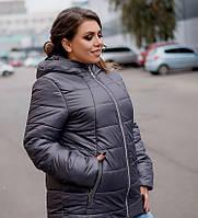 Жіноча куртка великого розміру, фото 1