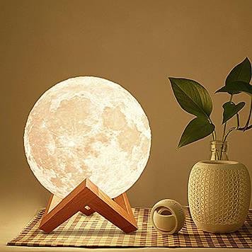 """Зволожувач - нічник """"Луна"""" для декору (3 Види підсвічування)"""