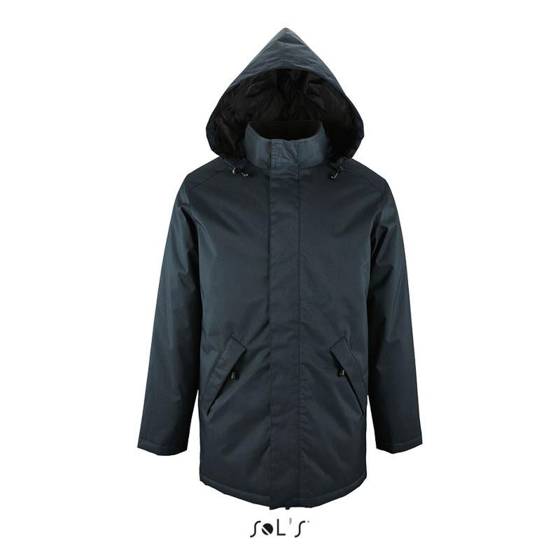 Куртка-парку унісекс на стеганой підкладці ROBYN (кобальт, XS)