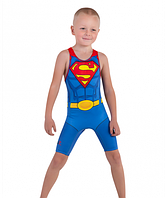 Детское борцовское трико Супермен размер 3XS
