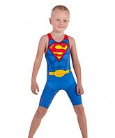 Детское борцовское трико Супермен размер S