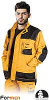 Куртка рабочая LH-FMN-J YBS 65% полиэстер, 35% хлопок (размер XL) .LEBER&HOLLMAN