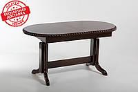 Стол журнальный трансформер большой и обеденный овальная крышка Нью-Дели Biformer, Стол кухонный деревянный