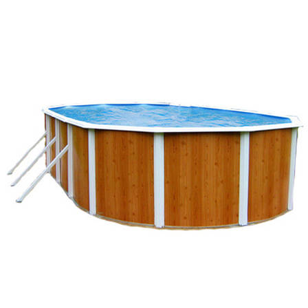 Збірний морозостійкий овальний басейн AZURO 5,5 х 3,7 м, глуб. 1,2 м Mountfield 404DL без обладнання, фото 2