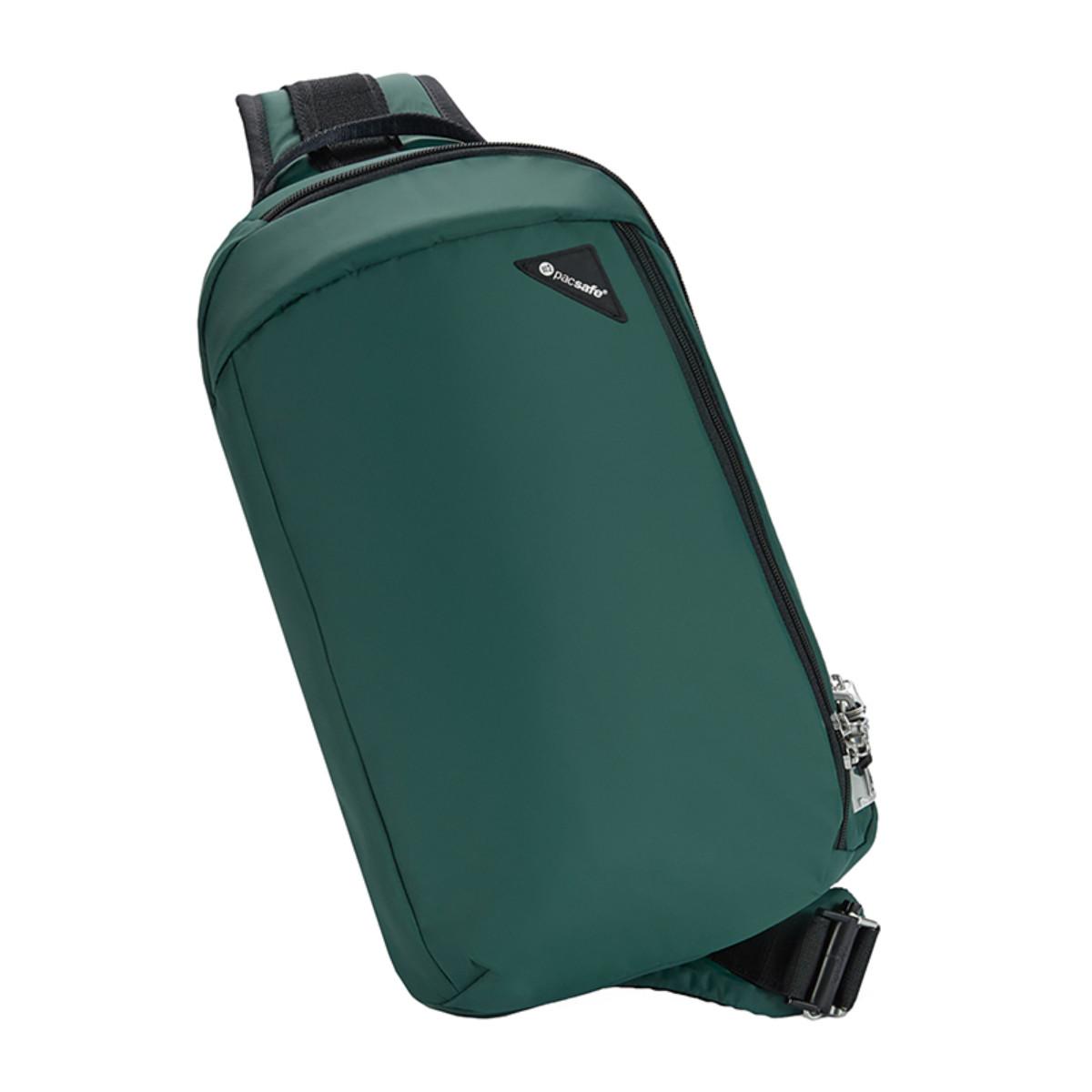 """Сумка через плече """"антизлодій"""" Vibe 325, 5 ступенів захисту (зелений, 40х23х8 см)"""