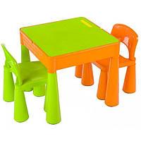 Столик и два крісла Tega Mamut салатовий! Виробник Польща