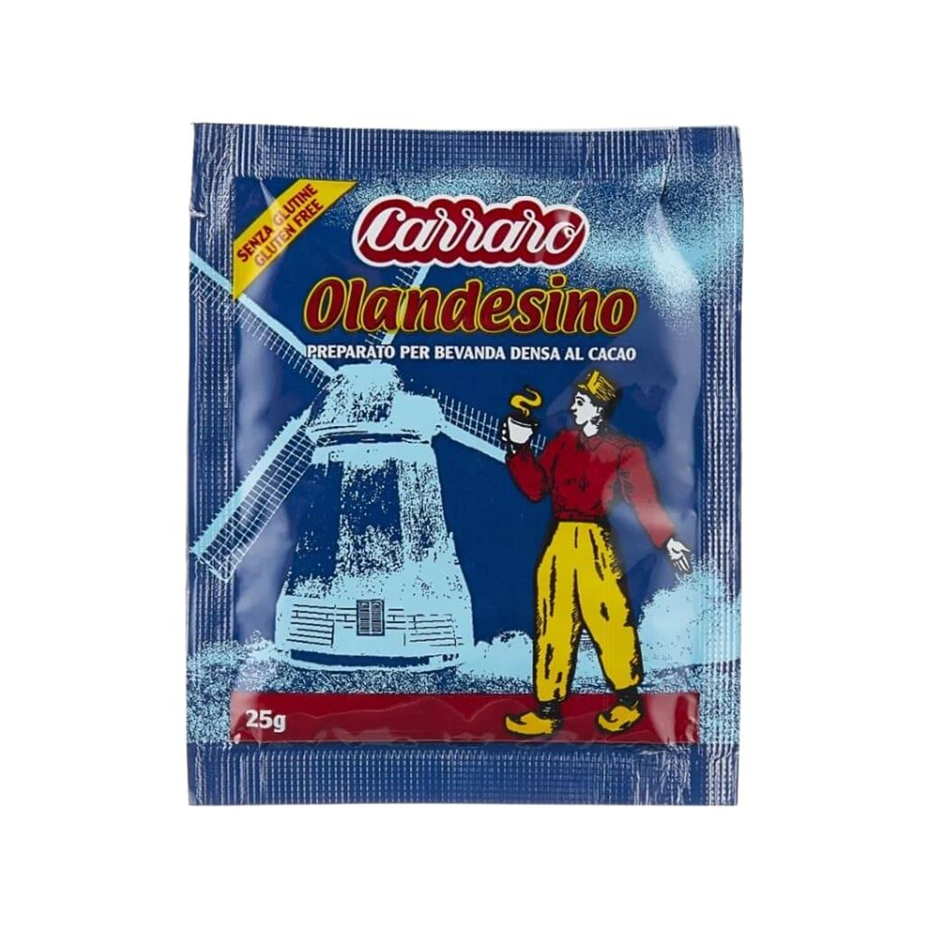 Гарячий шоколад Carraro порційний 100 шт по 25г
