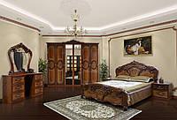 Модульная система для спальни «Кармен Новая» Мир Мебели РКММ Комплект_1: кровать 2сп (1,6м), тумбочка (2 шт.),