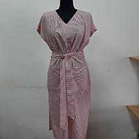 Женское платье в полоску Хль