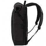 """Рюкзак для ноутбука 15"""" Victorinox Altmont Classic Rolltop (20л, 290x440x160мм),черный 605319, фото 4"""