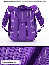 Рюкзак школьный в 1-3 класс ранец каркасный для девочки Мишка Winner One 7006 16 л. 29*36см, фото 3