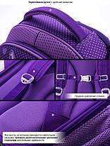Рюкзак школьный в 1-3 класс ранец каркасный для девочки Мишка Winner One 7006 16 л. 29*36см, фото 2