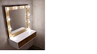 Зеркало М611-1 с подсветкой и ящиком / МАRKSON, фото 1