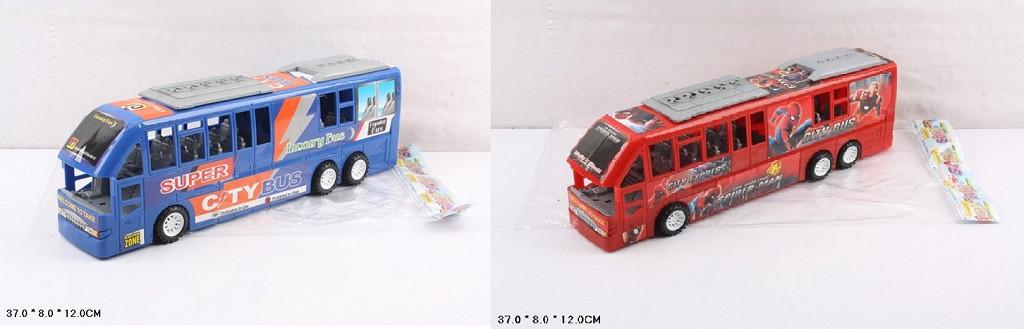 Автобус інерційний 2 види XY919P/12P