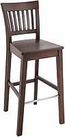 Современный деревянный табурет для барной стойки Райнес/Виктория ясень РПМК, Барный высокий стул для кафе