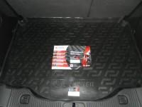 Коврик в багажник для Opel Mokka A 2012-2021, резино-пластиковый (Lada Locker)