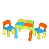Столик и два крісла Tega Mamutю! Колір: мультиколір! Виробник Польща, фото 1