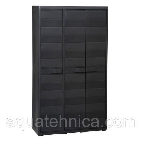 Шафа 3-х дверний Elegance S Toomax чорний