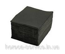 Салфетки барные FESKO Ruta Professional 24х24 черные 300 шт.