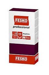 Салфетки банкетные FESKO Professional 33х33 Бордо 1/4 сложения 250 шт.