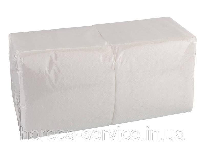 Салфетки барные FESKO двухслойные белые 200 шт.