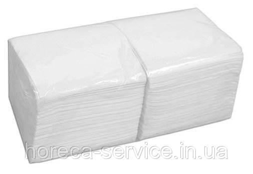 Салфетки банкетные FESKO Standart однослойные белые 1/4 сложения 500 шт.