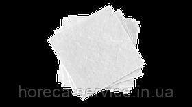 Салфетки барные КПК 24х24 однослойные белые 500 шт.
