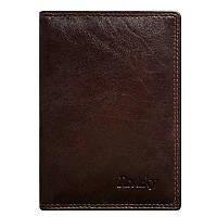 Обкладинка для документів шкіряна коричнева Rovicky N1912-RVTK Brown