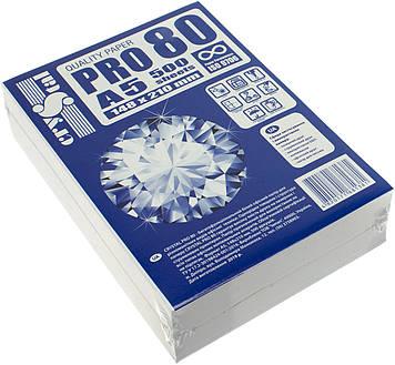 "Папір для ксер. A5 ""Crystal Pro"" 80г/м2 С (500арк)(10)"