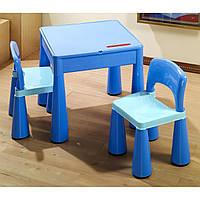 Столик и два крісла Tega Mamutю! Колір: синый! Виробник Польща