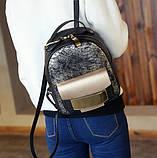 Женский рюкзак кожа ПУ, фото 6