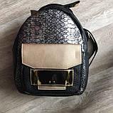 Женский рюкзак кожа ПУ, фото 8
