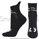 Женские зимние носки полуплюш укороченные, фото 3