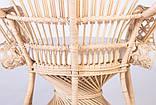 Крісло Павлін  натуральний ротанг світло-медовий kr0010, фото 2