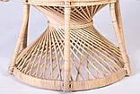 Крісло Павлін  натуральний ротанг світло-медовий kr0010, фото 3