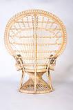 Крісло Павлін  натуральний ротанг світло-медовий kr0010, фото 4