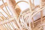Крісло Павлін  натуральний ротанг світло-медовий kr0010, фото 7