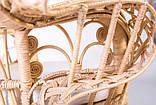 Крісло Павлін  натуральний ротанг світло-медовий kr0010, фото 8